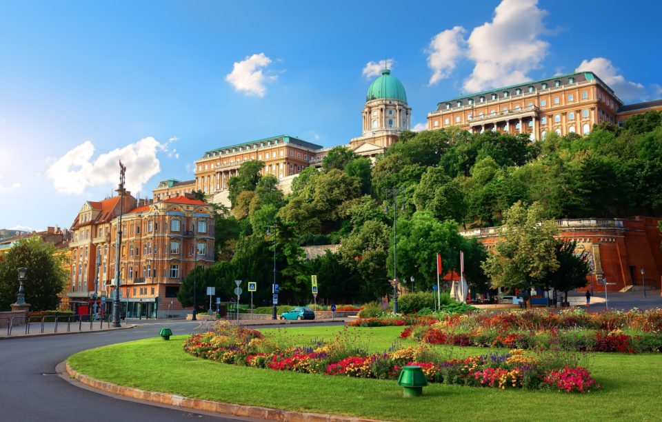 Royal Palace in Budapest