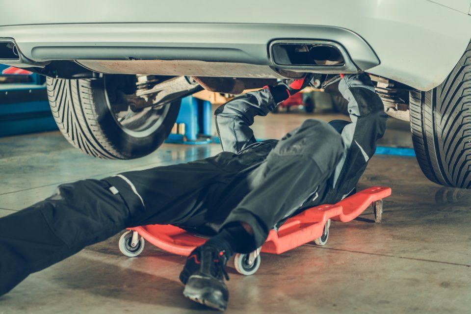 Car Mechanic Repair Vehicle