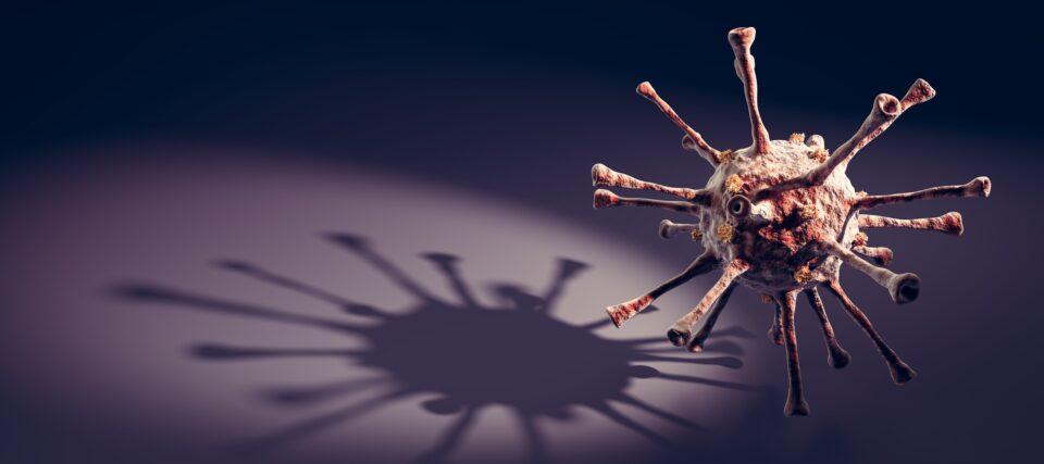 Fear of Coronavirus COVID-19 concept. Corona virus pandemic
